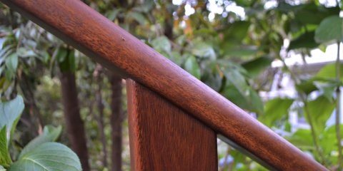 Spotted Gum Handrail